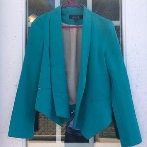 Francesca's Blue Rain Blazer